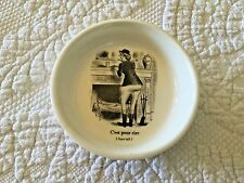 Fractured French 1950 C'est Pour Rire Sore Tail Trinket Bowl