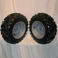 2) 16x6.50-8 Snow Blower Thrower Tiller TIRE RIM WHEEL ASSEMBLIES Left & Right