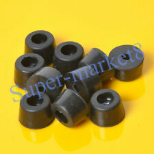 20pcs 17x10mm Round Rubber Feet With Metal For Tube Amp Radio Gear ATA Cabinet
