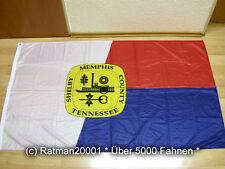 Fahnen Flagge Memphis Tennessee USA Digitaldruck - 90 x 150 cm