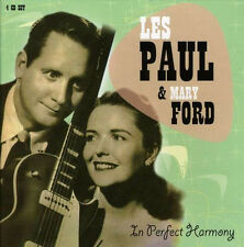 Les Paul & Mary Ford IN PERFECT HARMONY Best Of 108 Songs PROPER BOX New 4 CD