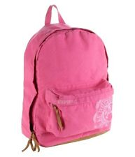 AEROPOSTALE ~ BACKPACK ~ BOOKBAG ~ PINK WITH SUEDE BOTTOM