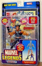 WEAPON X ( WOLVERINE ) MARVEL LEGENDS ( GIANT-MAN SERIES ) ACTION FIGURE + COMIC