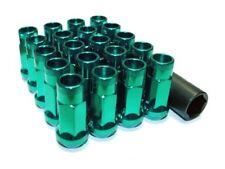 Muteki SR48 Open End Lug Nuts in Green 12x1.50