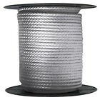 Anchor Rope Dock Line 38 X 50 Braided 100 Nylon Silver Made In Usa