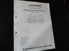 Original Service Manual Schaltplan Mitsubishi M-A01