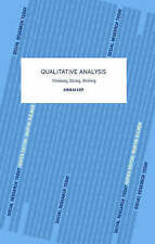 Qualitative Analysis (Social Research Today) by Ezzy, Douglas, NEW Book, FREE &