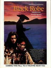 BLACK ROBE Movie POSTER 27x40 C Lothaire Bluteau Aden Young Sandrine Holt August