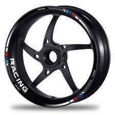 FELGENRANDAUFKLEBER passend für BMW M Felgenaufkleber GP Tricolore Style