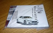 2014 MASERATI GHIBLI OWNERS MANUAL GUIDE 14 NEW