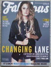 Paula Lane - Fabulous Magazine – 15 November 2015