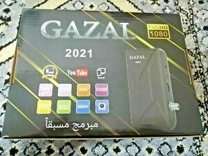 Gazal 2021 Satellite Receiver Arabic Wi-Fi رسيفر الغزال العربي 3 سنوات
