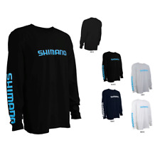 Shimano Ring Spun Cotton LS Tee Fishing Shirt- Pick Color/Size-Free Ship