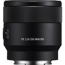 NEW SONY FE 50mm F2.8 Macro SEL50M28 E-mount (50 mm F/2.8) Fixed Zoom Lens*Offer