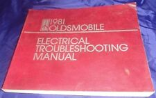 BS591 1981 Oldsmobile Electrical Troubleshooting Manual