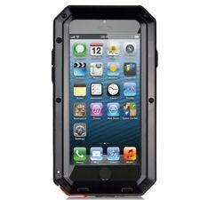 Dustproof Anti fall Shockproof Metal PHONE CASE+Gorilla Glass for iPhone 8Plus