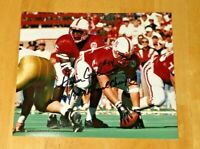 NEBRASKA FOOTBALL CORNHUSKER  AARON GRAHAM #54 & TOMMIE FRAZIER #15 SIGNED PHOTO