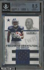 2010 Rookies & Stars Freshman Orientation Dez Bryant RC Jersey 260/299 BGS 8.5