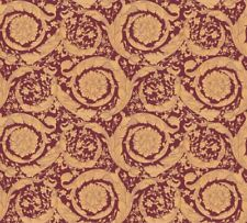 Versace 4 Home Wallpaper 366927 Ornament rot gold metallic Tapete Vliestapete