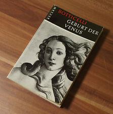 Reclam Taschenbuch Botticelli - Geburt der Venus Jan Lauts von 1958 (G5)