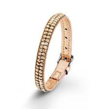 s.Oliver Damen Armband Leder So1364/1 RoseGold