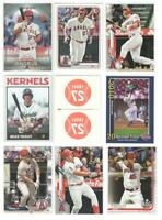 x26 Different MIKE TROUT 2013-2020 Premium card lot/set Topps Bowman Inserts hot