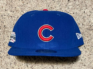 Chicago Cubs MLB New Era 59FIFTY 2016 World Series Champs Fitted Hat - Blue