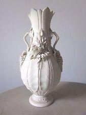 Remarquable !! Grand vase argile Belgique céramique vers 1900