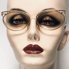 PALOMA PICASSO Eyeglasses Mod 3842 Gold Cat Eye Oval Metal Frames Austria