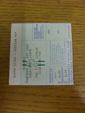 01/01/1987 Ticket: Portsmouth v Reading (folded). Thanks for viewing this item,