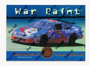 Terry Labonte 1997 Pinnacle Certified Mirror Blue Parallel Insert Card 1:199 #80