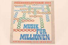 loterie à la télévision 1964 MUSIQUE POUR MILLIONS Un Musical Voyage disque