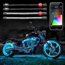 XK-Glow KS-MOTO-ADVANCE LED 10Pod 8Strip Motorcycle App Control Accent Light Kit
