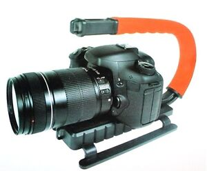 Vivitar Action Sports Grip Stabilizing Bracket For Sony HDR-XR260 HDR-PJ710