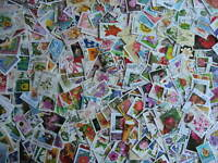 FLOWERS topic 540 different stamps plus 1 souvenir sheet,includes postally used!