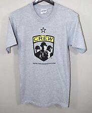 Columbus Crew Logo T-Shirt SMALL Gray MLS Soccer Futbol Old Logo