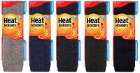 Heat Holders - Mens LONG Wool 2.7 TOG Knee High Thick Winter Warm Thermal Socks