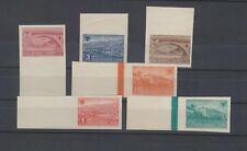 ALBANIA,1945,Mi 379-84 ,imperforated set ,no gum