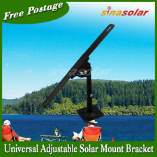 Universal Adjustable Solar Panel Wall ROOF Mount Bracket(3 brace included)