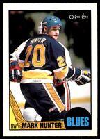 1987-88 Mark Hunter O-PEE-CHEE Hockey Card! #50 St. Louis Blues NM-M OPC Buy 1-4