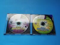 Microsoft Xbox 360 Kinect Sports Season 1 AND 2 Bundle Video Game Lot Disk Only