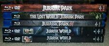 Jurassic Park Blu-ray Lot (No Digital Codes)