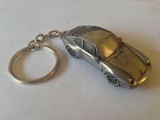 Porsche 911 circa 1993 (type 993)  3D split-ring keyring FULL CAR ref194