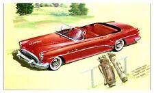 1954 Buick 56C Super Convertible Postcard *5C