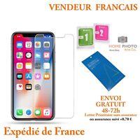 Vitre de protection VERRE TREMPÉ film protecteur écran iPhone XS/MAX/X/XR 8/7/6