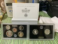 2021-S Silver proof set with bix and COA, immediate shipping!
