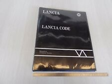 CATALOGO LANCIA 1995 LANCIA CODE DEDRA K DELTA