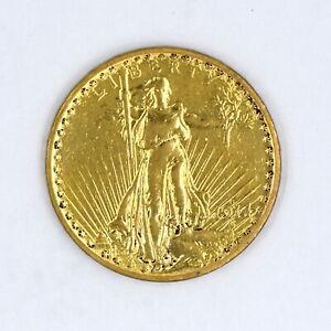 1914-S $20 SAINT GAUDENS DOUBLE EAGLE 90% GOLD US COLLECTIBLE COIN FINE DETAILS