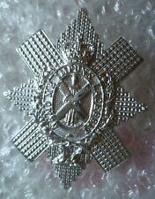 Staybrite Royal Highlanders Black Watch Cap Badge QC Anodised 2 Lugs