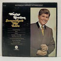 Wayne Newton – Somewhere My Love: Capitol Records 1968 Vinyl LP (Pop Vocal)